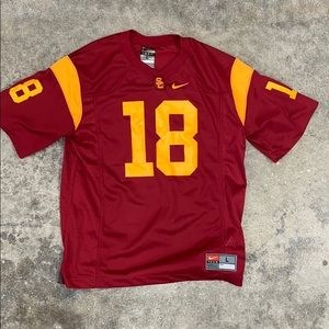 Nike USC Trojans Youth Large Jersey #18